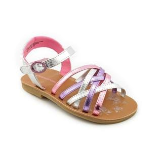 Rampage Girls Girl (Toddler) 'Lil Tammy' Patent Sandals
