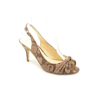 Enzo Angiolini Women's 'Rebec' Animal Print Sandals (Size 8 )