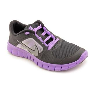Nike Girl (Youth) 'Free Run 3 (GS)' Synthetic Athletic Shoe