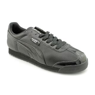 Puma Men's 'Roma Perforated CP' Basic Textile Casual Shoes