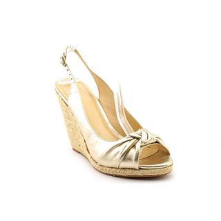 Enzo Angiolini Women's 'Inigo Espadrille' Leather Dress Shoes (Size 9.5 )