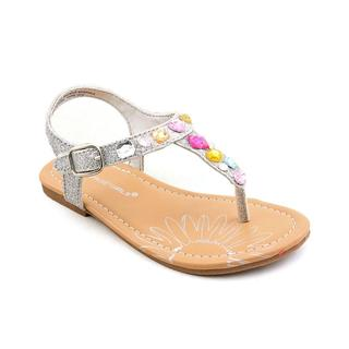 Rampage Girls Girl (Toddler) 'Lil Jordyn' Basic Textile Sandals