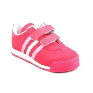 Adidas Girl (Toddler) 'Samoa ' Synthetic Athletic Shoe