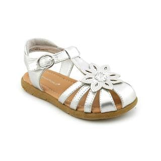 Rampage Girls Girl (Toddler) 'Lil Kelsey' Faux Leather Sandals