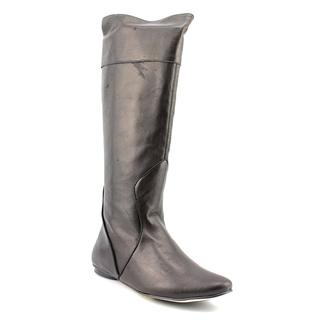 All Black Women's 'New Elf' Leather Boots