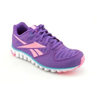Reebok Girl (Youth) 'Realflex Transition 2.0' Synthetic Athletic Shoe (Size 3 )