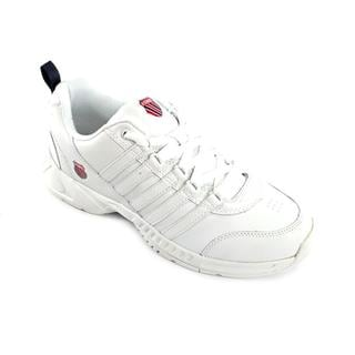 K Swiss Men's 'Grancourt' Leather Athletic Shoe