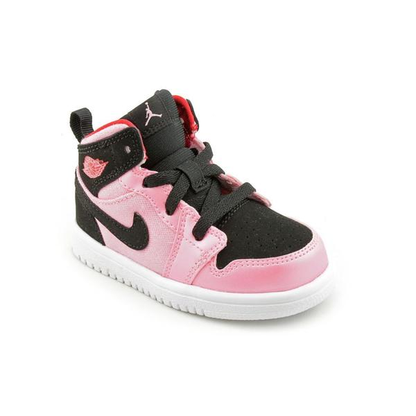 Jordan Girl (Toddler) '1 Mid Flex (TD)' Fabric Athletic Shoe
