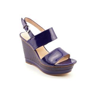 Franco Sarto Women's 'Slip' Leather Sandals (Size 9 )