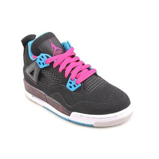 Jordan Girl (Youth) 'Jordan 4 Retro' Leather Athletic Shoe