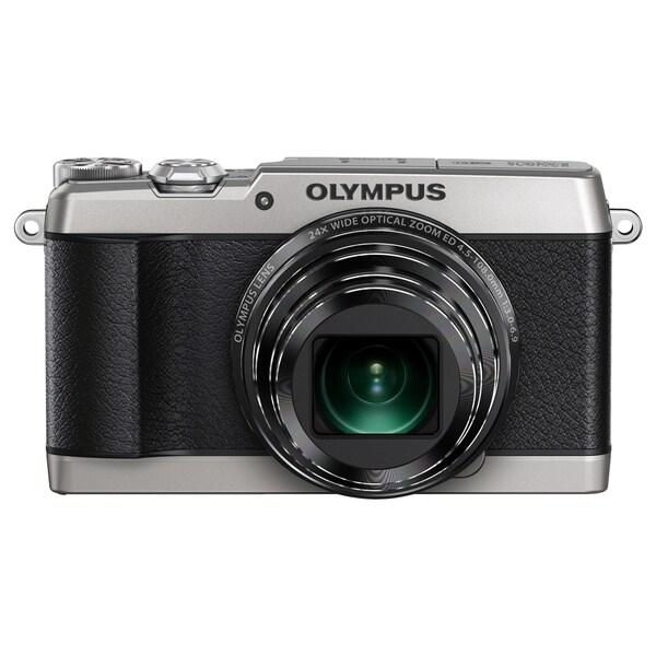 Olympus SH-1 16 Megapixel Compact Camera - Silver
