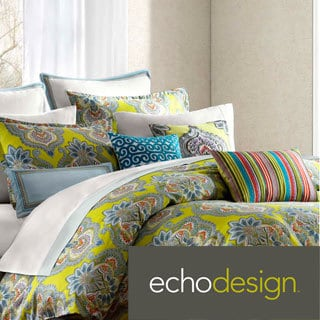 Echo Rio 3-piece Cotton Comforter Set with Optional Euro Sham Sold Separately
