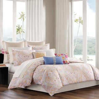 Echo Laila 4-piece Cotton Comforter Set with Optional Euro Sham Sold Separately