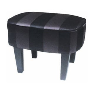 Garbo Multi-color Striped Ottoman