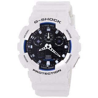 Casio Men's 'G-Shock' White Chronograph Watch