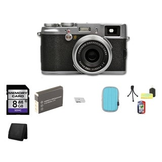 Fujifilm FinePix X100 12.3MP Bridge Digital Camera 8GB Bundle