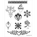 Earth Jagua Stencil Transfer Pack-Hearts & Valentines