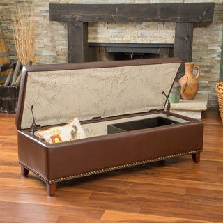 Christopher Knight Home Liverpool Storage Ottoman with Tray