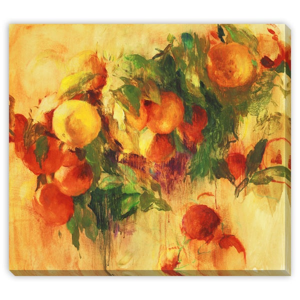 Oranges Canvas Gallery Wrap Art