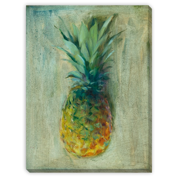 Pineapples III Canvas Gallery Wrap