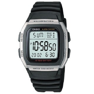 Casio Men's W96H-1AV Alarm Chronograph Digital Sport Watch
