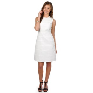 Calvin Klein Women's Sleeveless A-Line Dress