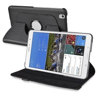 BasAcc Black 360 Rotating Leather Stand Case for Samsung Galaxy Tab Pro 8.4
