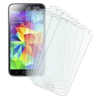 BasAcc Anti-glare Screen Protector Film Guard for Samsung Galaxy S5 SV (Pack of 6)