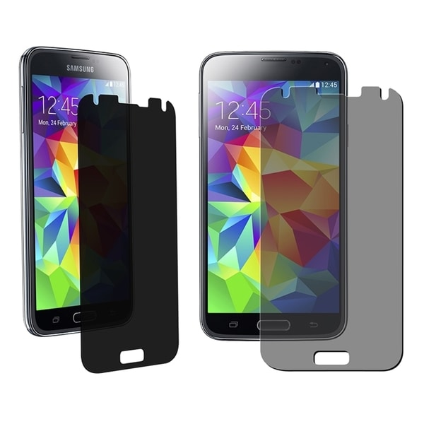 INSTEN Privacy Filter Screen Protector for Samsung Galaxy S5 SV