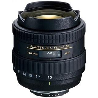 Tokina 10-17mm f/3.5-4.5 AT-X 107 DX AF Fisheye Lens for Nikon DSLR