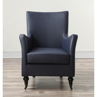 Carlyle Indigo Leather Chair