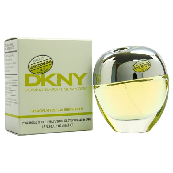 DKNY Be Delicious Skin Women's 1.7-ounce Hydrating Eau de Toilette Spray