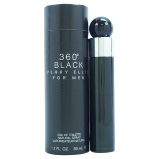 Perry Ellis '360 Black' Men's 1.7-ounce Eau de Toilette Spray