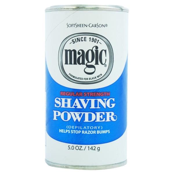 Carson Magic Regular Strength Men's 5-ounce Shave Powder