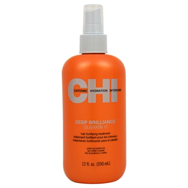 CHI Deep Brilliance Silkeratin 17 Hair Fortifying 12-ounce Treatment