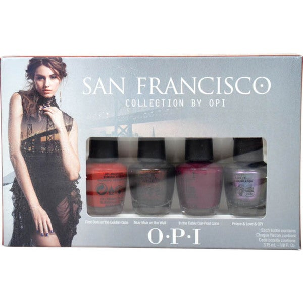 OPI San Francisco Mini Colletion 4-Piece Mini Set