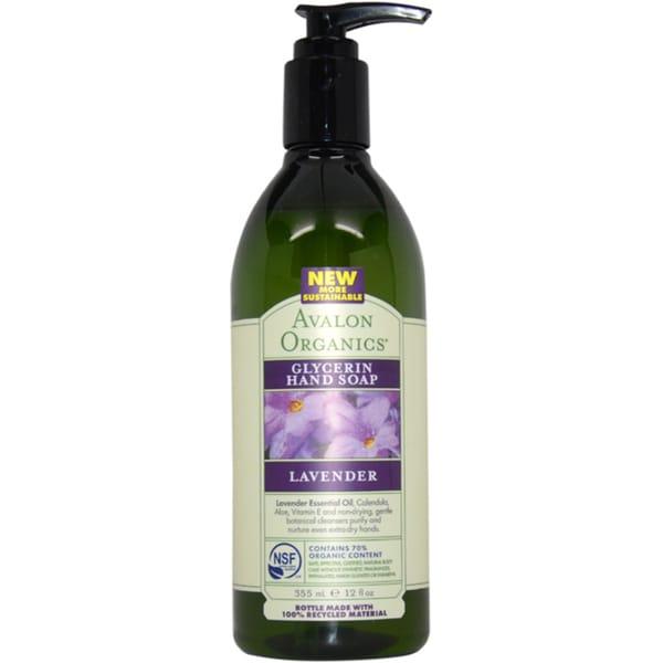 Avalon Organics Glycerin Lavender 12-ounce Hand Soap