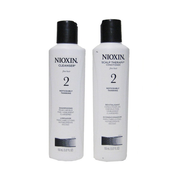 Nioxin System 2 Cleanser/ Scalp Therapy 2-piece Set