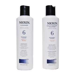 Nioxin System 6 Cleanser/ Scalp Therapy 2-piece Set