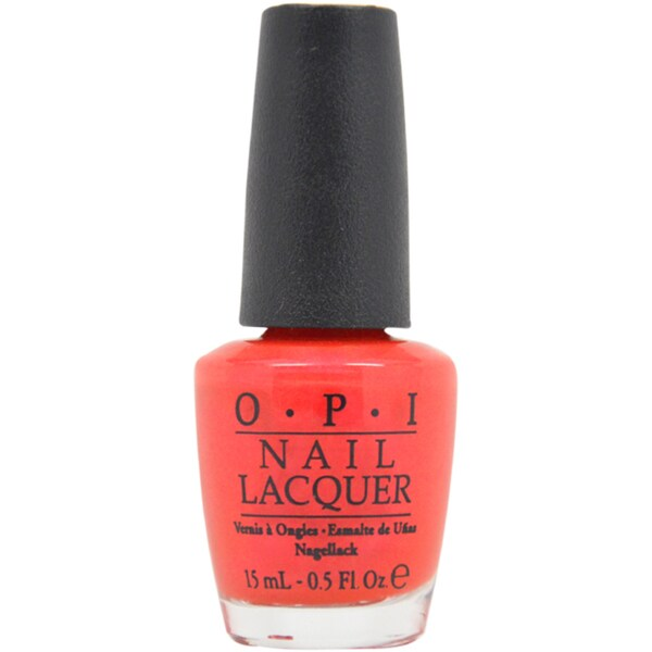OPI # NL V12 Cha-Ching Cherry Nail Polish