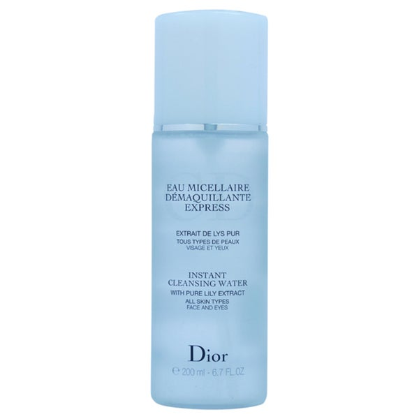 Dior Instant 6.7-ounce Cleansing Water (Tester)