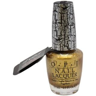 OPI Gold Shatter Nail Polish