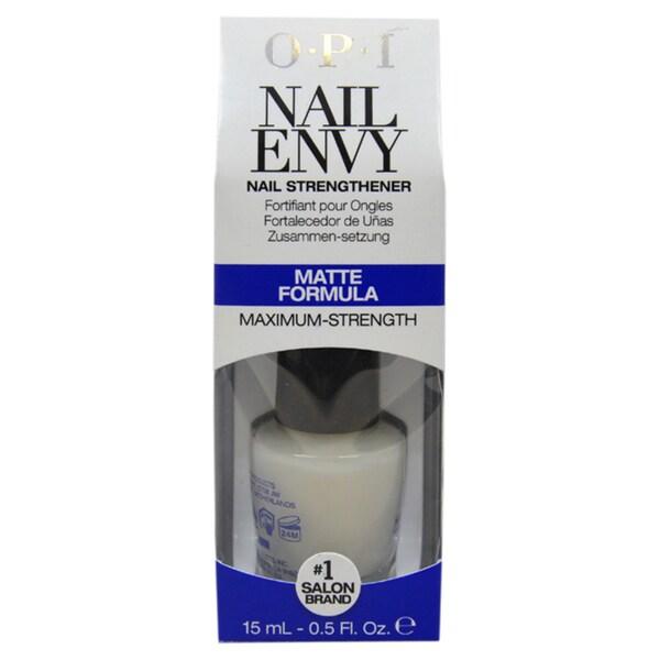 OPI Nail Envy Nail Strengthener Matte Formula Nail Polish