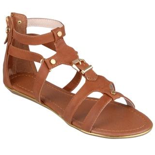 Journee Collection Women's 'Avis-1' Strappy Gladiator Sandals