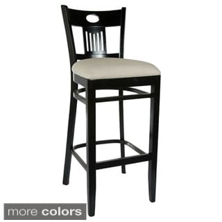 Violin Upholstered Bar Stool