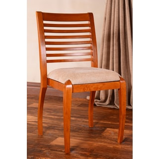 Sienna Horizontal Cherry Dining Chairs (Set of 2)