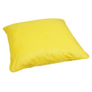 Bright Indoor/ Outdoor 28-inch Square Sunbrella Floor Pillow