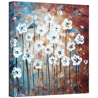 ArtWall Jolina Anthony 'Spring Blooms' Gallery-Wrapped Canvas