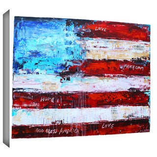 ArtWall Jolina Anthony 'America' Gallery-Wrapped Canvas