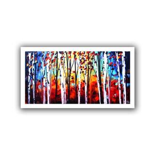 ArtWall Jolina Anthony 'Autumn' Unwrapped Canvas